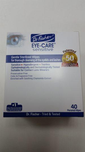 Dr Fischer Gentle Sterilized Eye Care 40 Wips