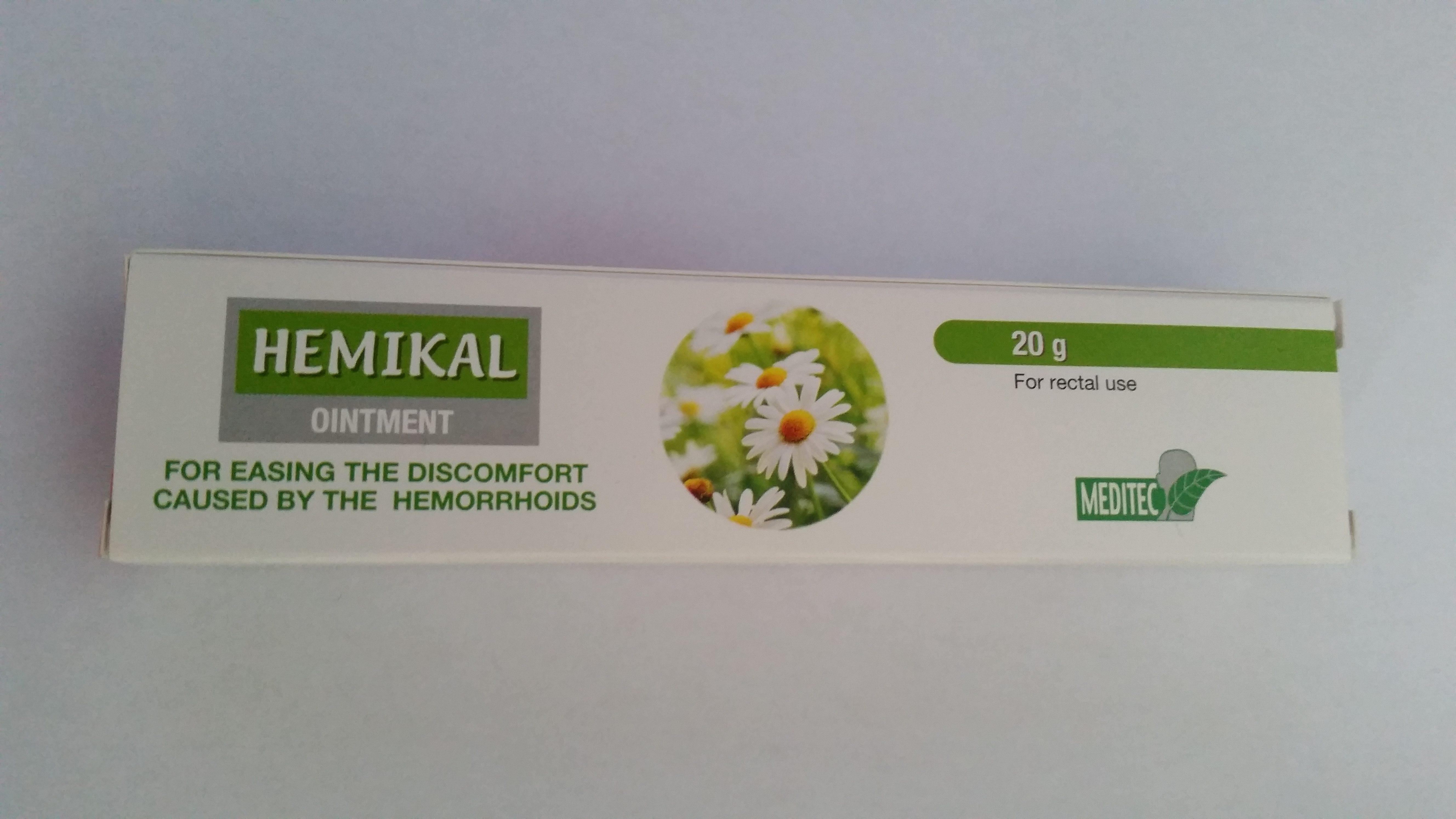 HEMIKAL 20 gm HEMORRHOID'S OINTMENT