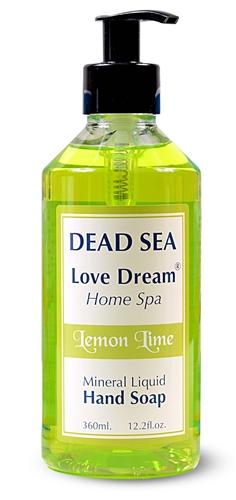 Mineral Liquid Hand Soap - Lemon Lime- 360 ml.