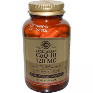Solgar, Vegetarian CoQ-10, 120 mg, 60 Vegetable Capsules
