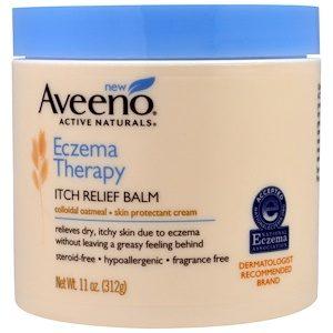 Aveeno,Eczema Therapy,Itch Relief Balm