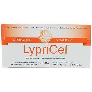 LypriCel, Liposomal Vitamin C, 30 Packets