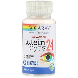 Solaray Advanced Lutein Eyes 24 mg