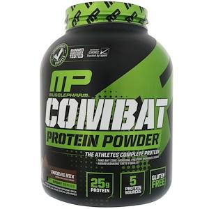 MusclePharm Sport Series Combat Protein Powder Chocolate Milk