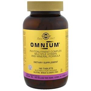 Solgar Omnium Phytonutrient Complex Multiple Vitamin&Mineral Formula