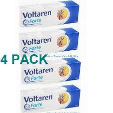 VOLTAREN GEL DICLOFENAC DIETHYLAMINE 2.32% 100 GR 4 pack